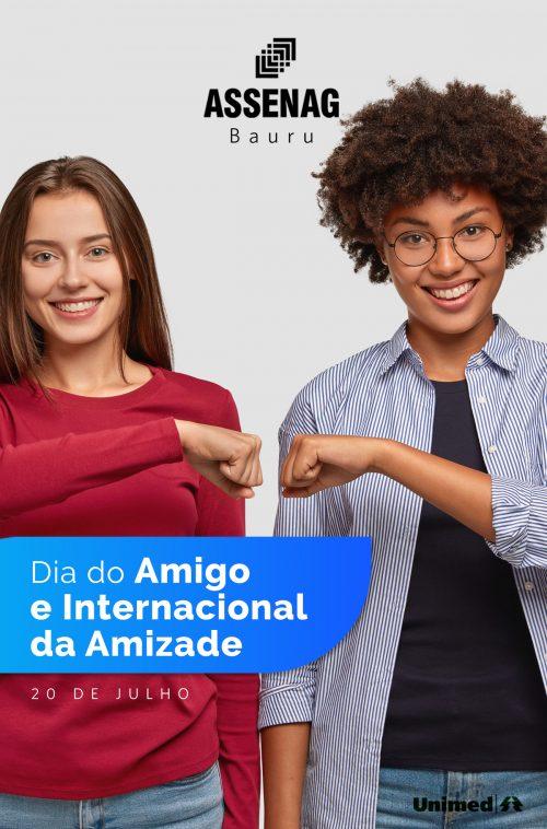 20 de Julho – Dia do Amigo e Internacional da Amizade