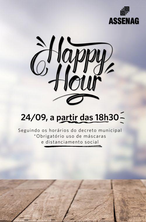 24 de Setembro – Happy Hour Assenag!